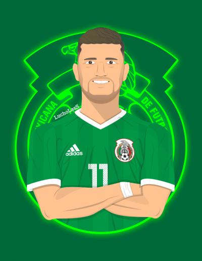Alejandro el Wero Diaz - Selección Mexicana | LuchoLasS