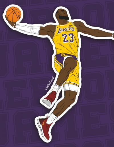 LeBron James - Los Angeles Lakers | LuchoLasS
