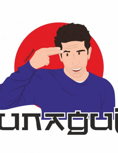 Ross Geller Unagui - Friends | LuchoLasS