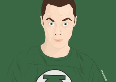 Sheldon Cooper - The Big Bang Theory   LuchoLasS