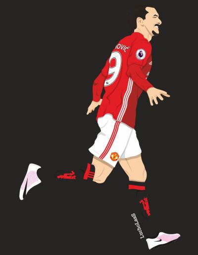 Zlata Ibrahimovic - Manchester United 2016-17 | LuchoLasS
