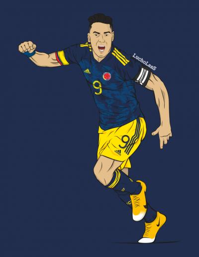Radamel Falcao García - selección Colombia | LuchoLasS