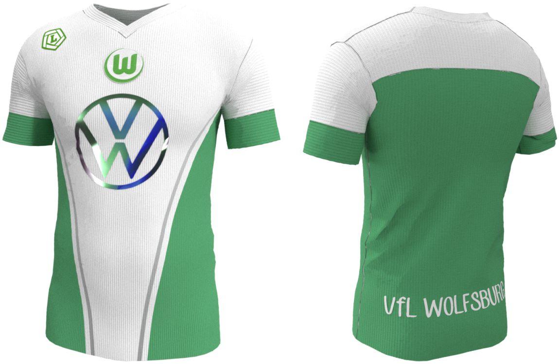 Camiseta VfL Wolfsburg - Fantasy | Indumentaria Deportiva